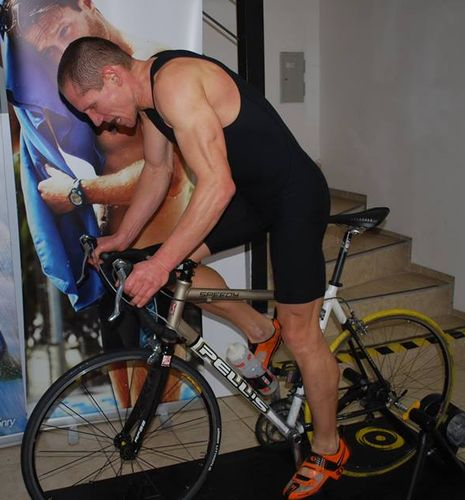 Indoor triathlon - kolo